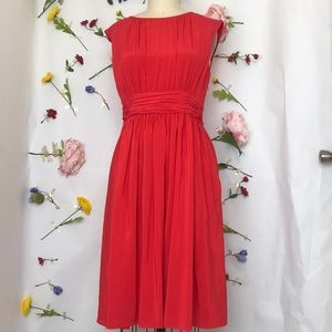 EUC Boden Selina dress in red 6L